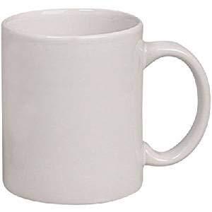 Crazy Sutra Sublimation Classic Mug White Plain Ceramic Coffee/Milk Mug (MUG-WhitePlain1Pc1)