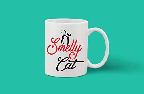 Crazy Sutra Classic Printed Ceramic Coffee/Milk Mug | Funky One Liner Coffee/Milk Mug (Mug-SmellyCat_1)
