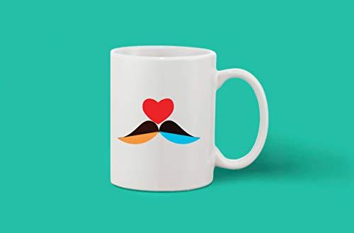 Crazy Sutra Classic Printed Ceramic Coffee/Milk Mug (Mug-Bird)