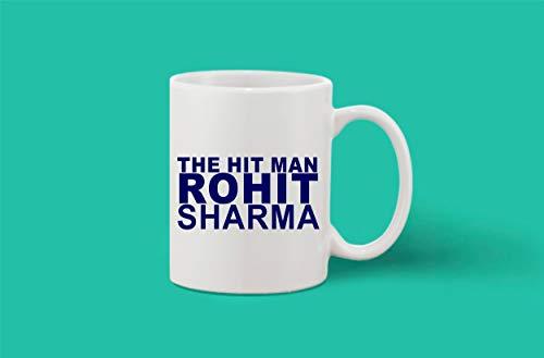 Crazy Sutra Classic Printed Ceramic Coffee/Milk Mug | Funky One Liner Coffee/Milk Mug (Mug-TheHitManRohitSharma_1)