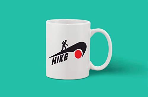 Crazy Sutra Classic Printed Ceramic Coffee/Milk Mug (Mug-Hike1)