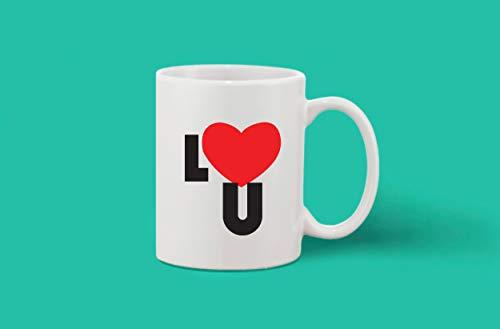 Crazy Sutra Classic Printed Ceramic Coffee/Milk Mug (Mug-Love)