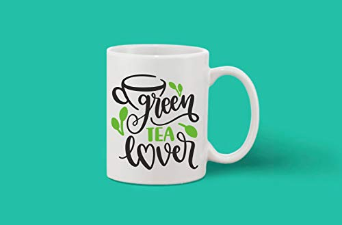 Crazy Sutra Classic Printed Ceramic Green Tea Lover Coffee/Milk Mug