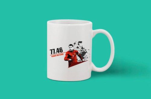 Crazy Sutra Classic Printed Special Football Global Dbi Score Ceramic Coffee/Milk Mug   Funky One Liner Coffee/Milk Mug (Mug-GlobalDbiScore_C)