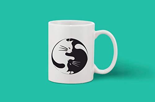 Crazy Sutra Classic Printed Ceramic Coffee/Milk Mug | Funky One Liner Coffee/Milk Mug (Mug-CatGraphics_1)
