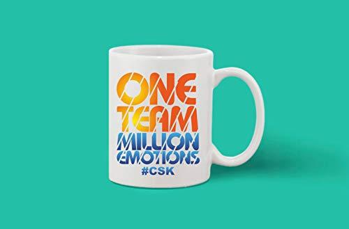 Crazy Sutra Classic Printed Ceramic Coffee/Milk Mug | Cricket Cricket Special/Milk Mug (Mug-OneMillionTeam)