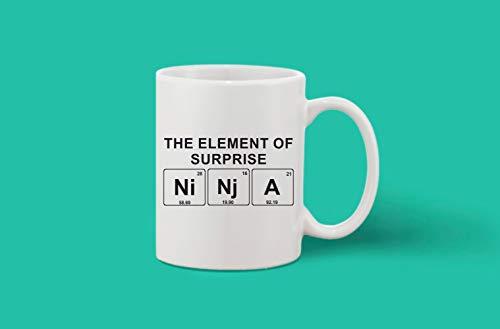 Crazy Sutra Classic Printed Ceramic Coffee/Milk Mug (Mug-Ninja)
