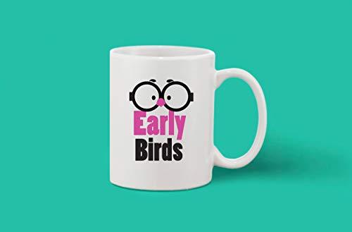 Crazy Sutra Classic Printed Ceramic Coffee/Milk Mug (Mug-EarlyBird)