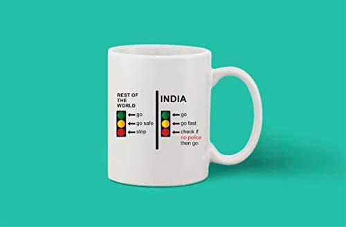 Crazy Sutra Classic Printed Ceramic Coffee/Milk Mug | Funky One Liner Coffee/Milk Mug (Mug-RestOfWorldInd)