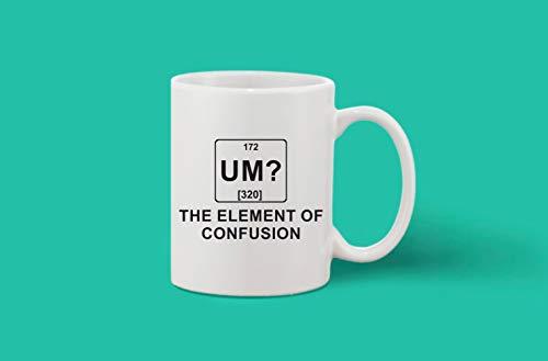 Crazy Sutra Classic Printed Ceramic Coffee/Milk Mug (Mug-UmTheElementOfCOnfusion)