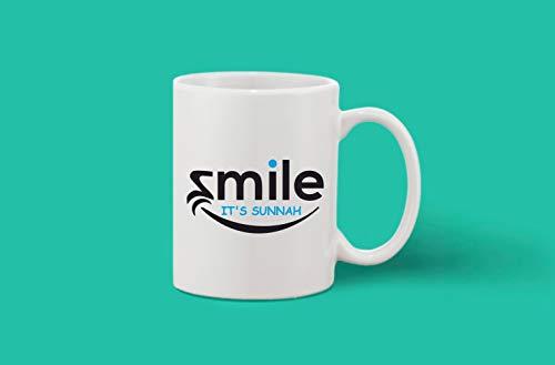 Crazy Sutra Classic Printed Ceramic Coffee/Milk Mug (Mug-SmileIsSunnah)