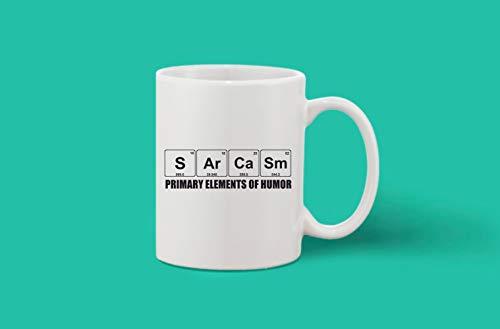 Crazy Sutra Classic Printed Ceramic Coffee/Milk Mug (Mug-PrimaryElemetOfHumor)