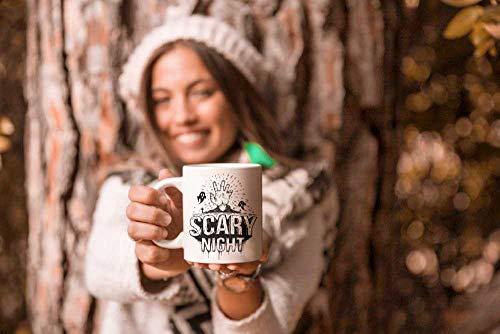 Crazy Sutra Classic Scary Night1 Printed Ceramic Milk/Coffee Mug(11oz)