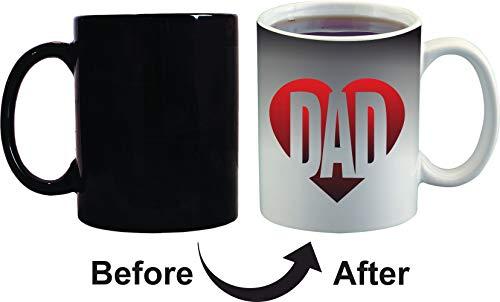 Crazy Sutra Classic Special Father's Day Printed Ceramic Funky One Liner Coffee Mug/Milk Mug, Black (MugMagic-DAD_C)
