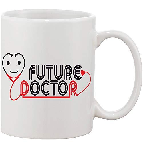 Crazy Sutra Classic Printed Ceramic Coffee/Milk Mug   Funky One Liner Coffee/Milk Mug (Mug-FutureDoctor)