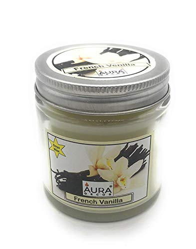 Crazy Sutra  Soy Wax Premium Jar Aroma Candle (Vanilla) Pack of 2