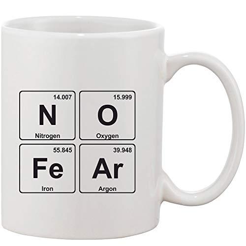 Crazy Sutra Classic Printed Ceramic Coffee/Milk Mug (Mug-NoFear1)