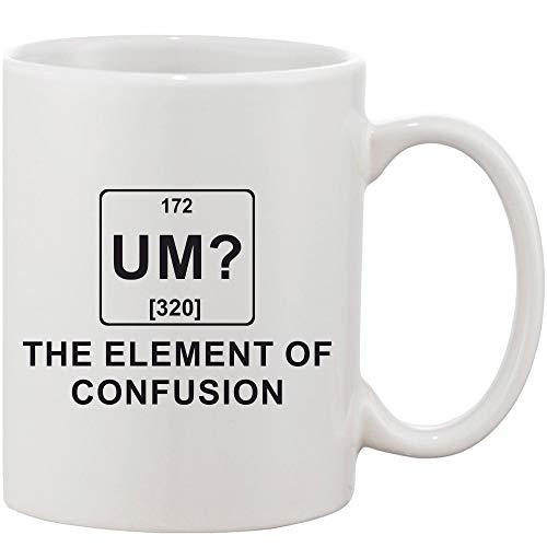 Crazy Sutra Classic Printed Ceramic Coffee/Milk Mug (Mug-UmTheElementOfCOnfusion1)