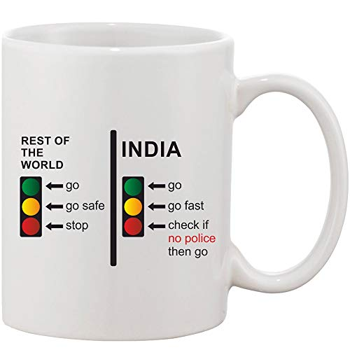 Crazy Sutra Classic Printed Ceramic Coffee/Milk Mug   Funky One Liner Coffee/Milk Mug (Mug-RestOfWorldInd)