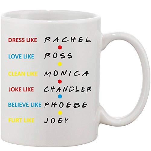 Crazy Sutra Classic Dress Like Joey1 Printed Ceramic Milk/Coffee Mug(11oz)