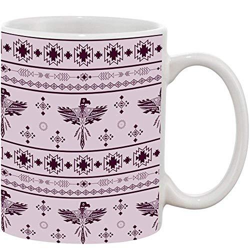 Crazy Sutra Classic Pattern Printed Ceramic Milk/Coffee Mug(11oz)