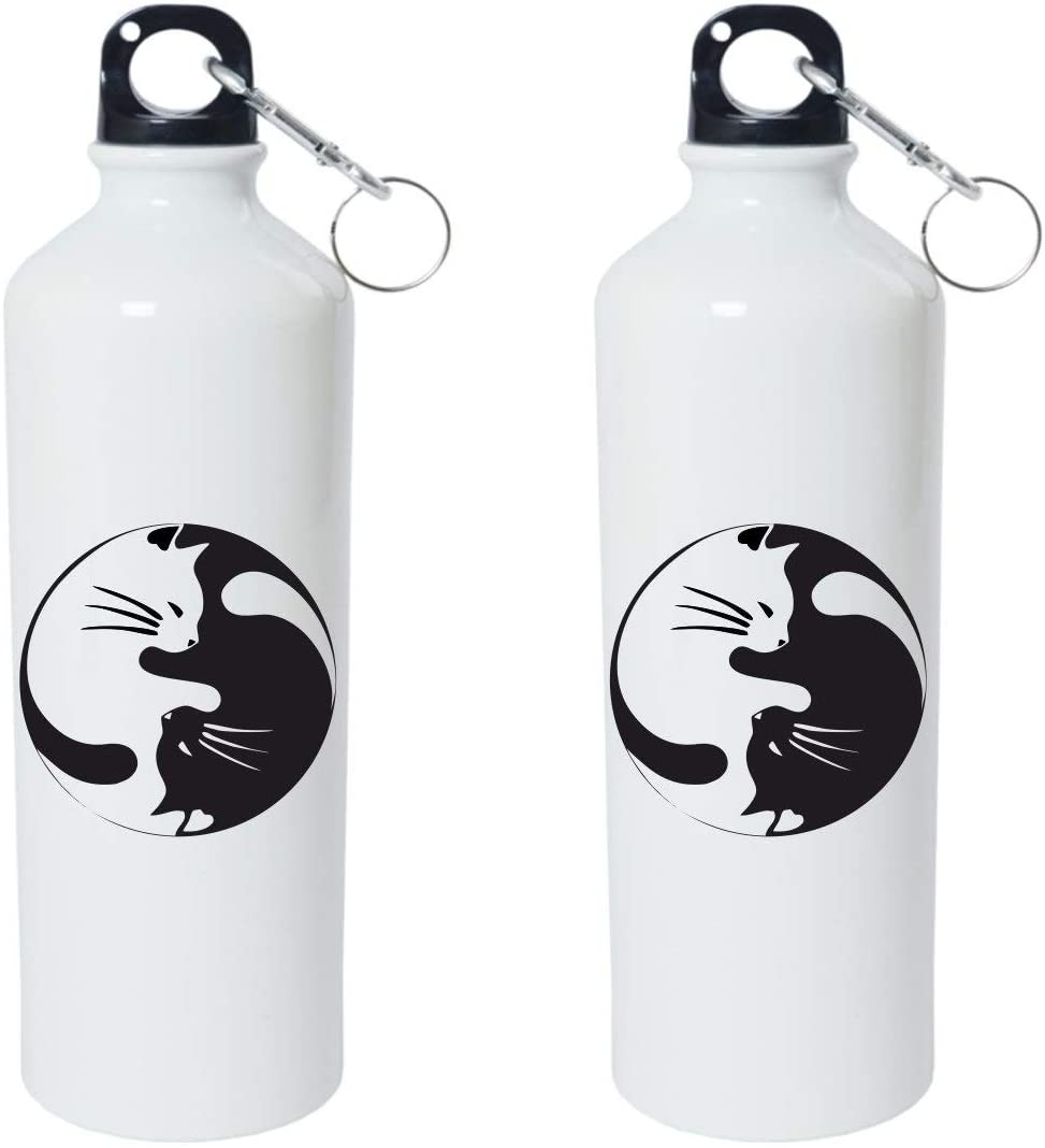 Crazy Sutra Classic Printed Water Bottle/Sipper - 600Ml (SchoolBottles-CatGraphics_W)