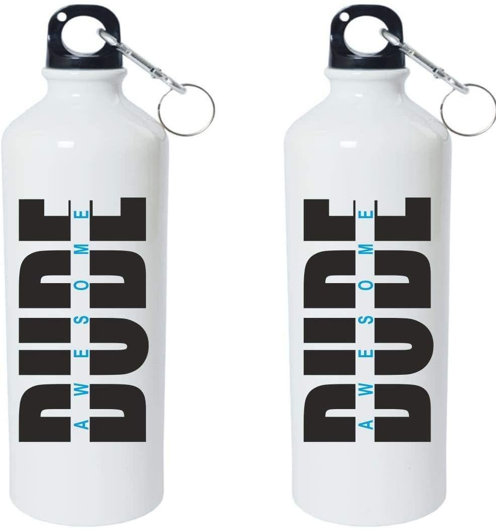 Crazy Sutra Classic Printed Cricket CricketCricket Special Water Bottle/Sipper White - 600Ml (Sipper-Dude)