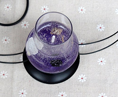 Crazy Sutra Gel Candle Lantern Shaped (Multicolour)