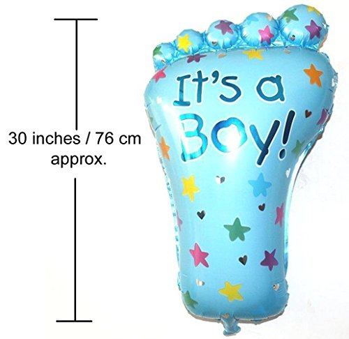 Crazy Sutra Party Decoration Foil Balloon Its A Boy Foil Balloon for Baby Shower (Pack of 5 pc)