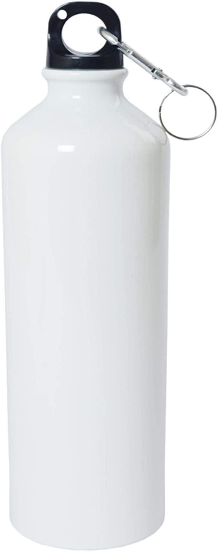Crazy Sutra Classic Sipper Plain Water Bottle/Sipper White - 600Ml (SipperWhite1pcC)