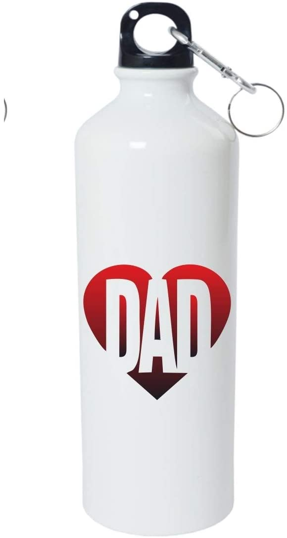 Crazy Sutra Classic Printed Quote Water Bottle/Sipper - 600Ml (DAD_W)