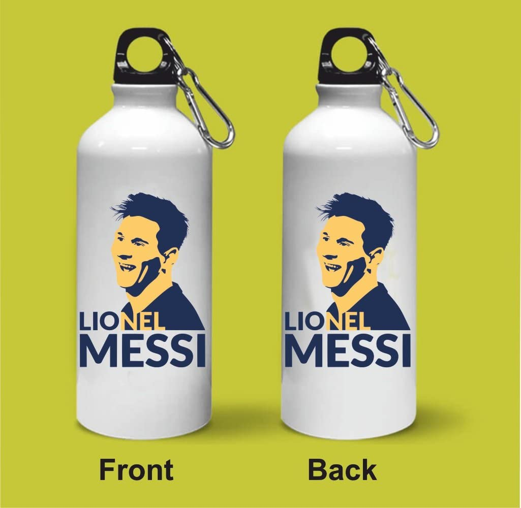 Crazy Sutra Classic Printed Special Football Water Bottle/Sipper White - 600Ml (1)