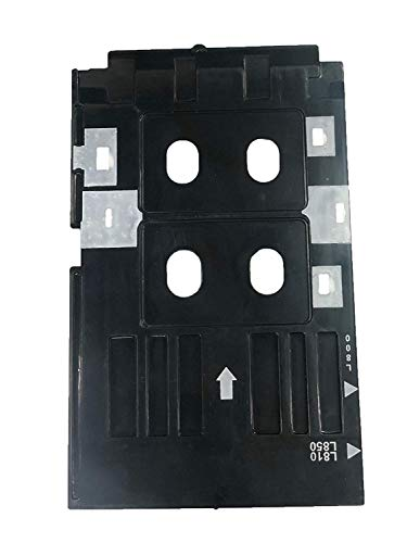 Crazy Sutra Black PVC ID Card Tray Compatible for Epson L-800,L-805,L810,R-260,R-280,R290,T-50,T-60,P-50 Inkjet Printer (Set of 1)