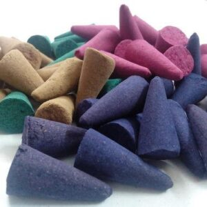 Crazy Sutra Scented Incense Stick Dhoop Cones (Random Colors and Fragrances) 20 Pc (Dhoopcones_20Pc2)
